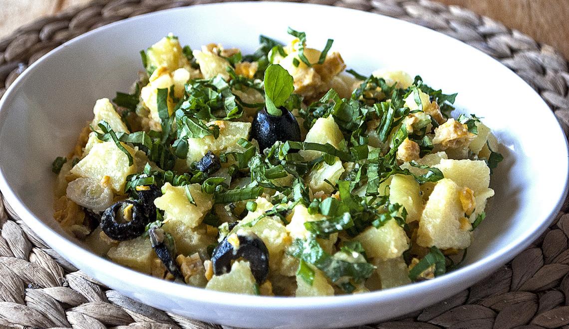 salata cartofi si masline