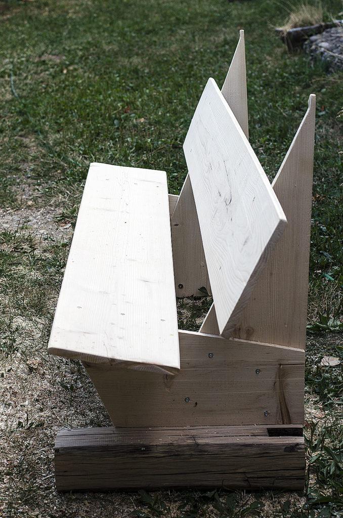 diy banca lemn