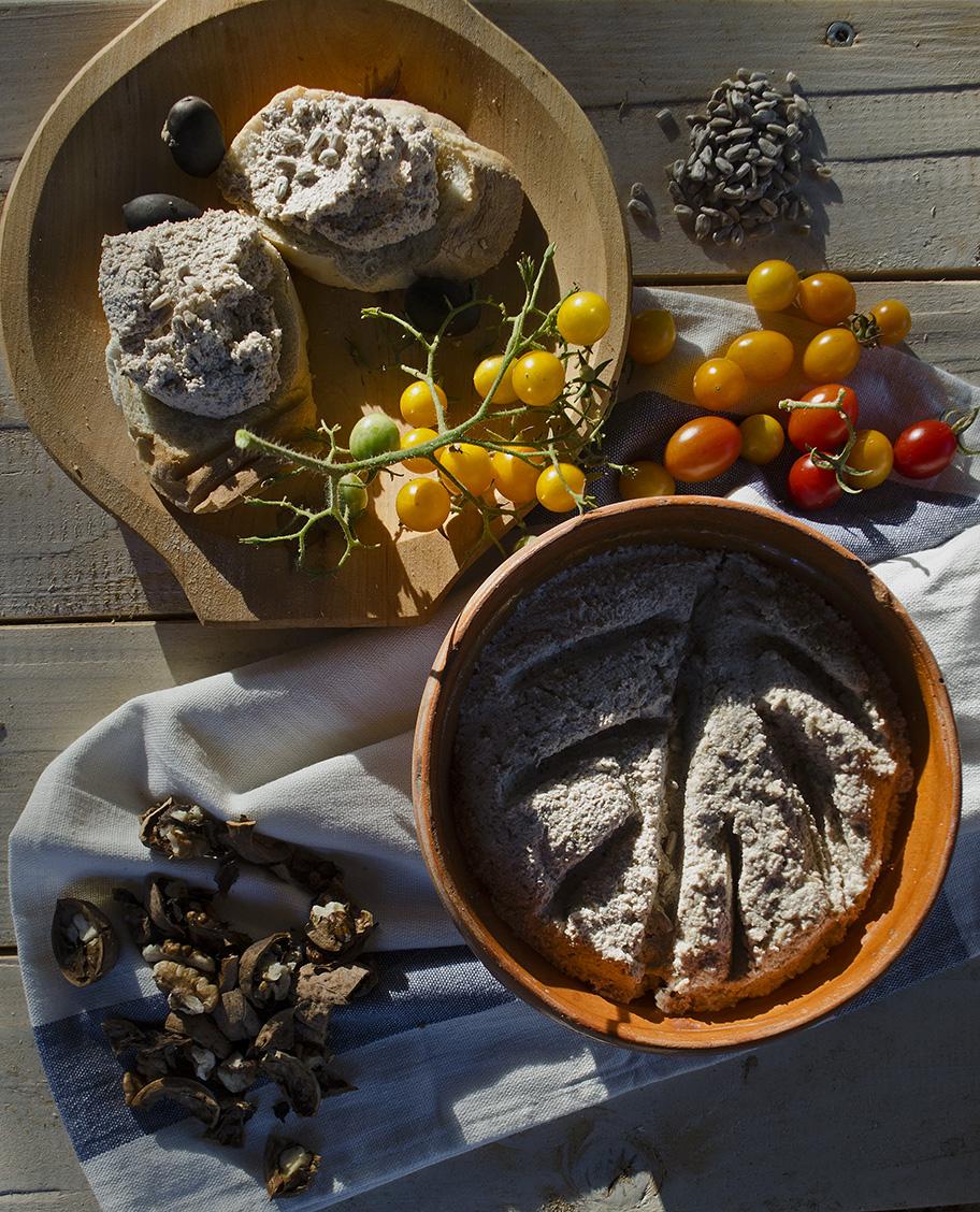 pasta sarata de nuci si seminte