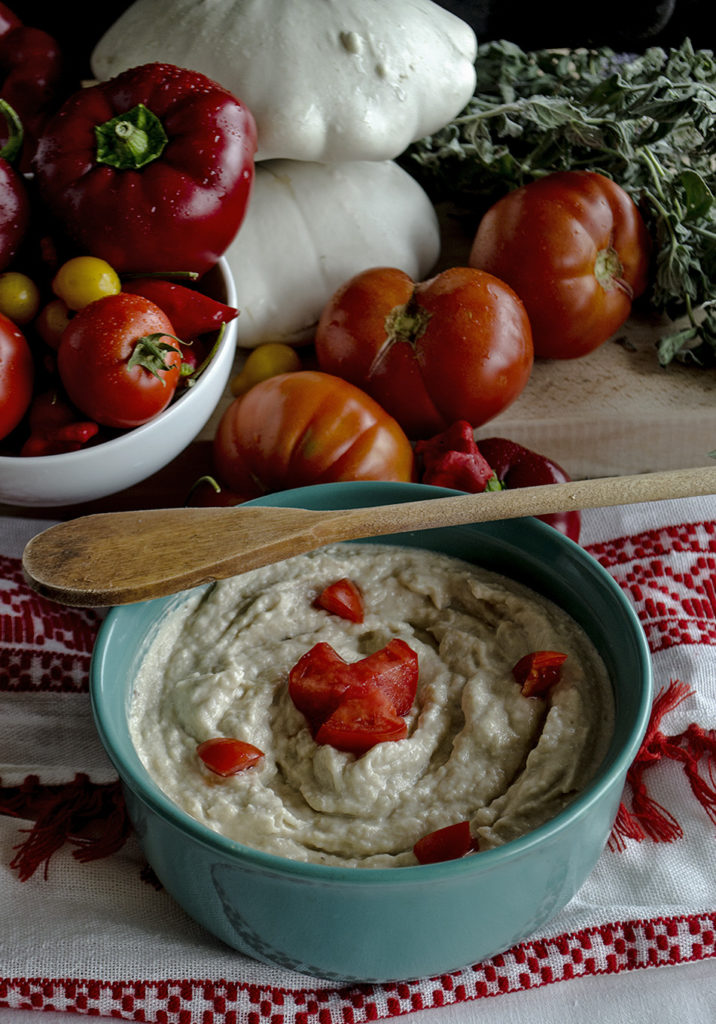 patison salad with mayonnaise