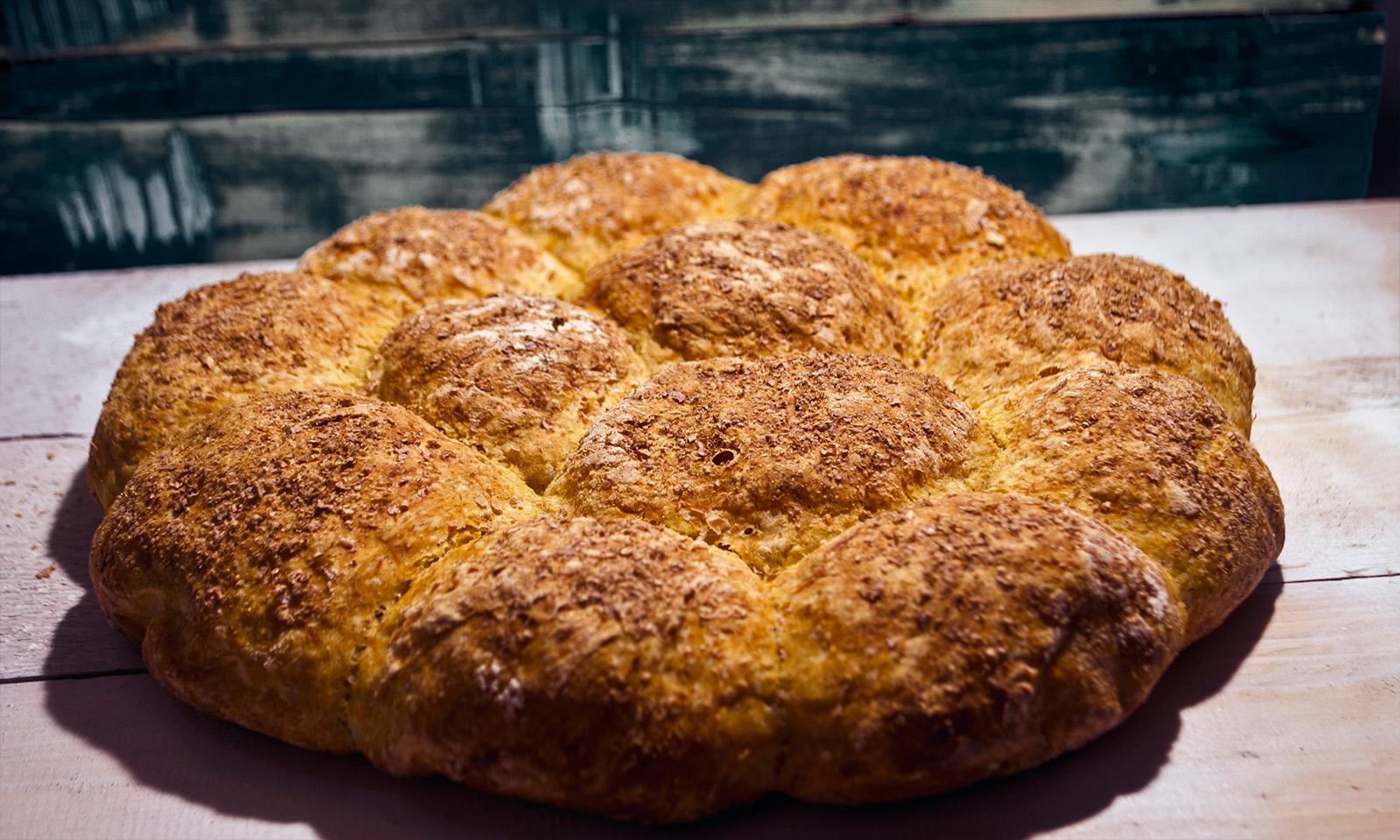 pâine cu dovleac